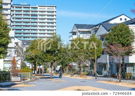 도쿄 살기 좋은 환경이 정비 된 도시 다마 뉴타운 72946684