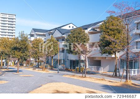 도쿄 살기 좋은 환경이 정비 된 도시 다마 뉴타운 72946687