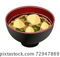 土豆味噌湯 72947869