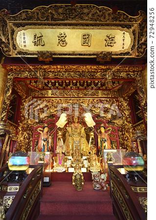 金子雕刻的媽祖神像,寺廟 72948256