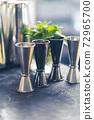 cocktail shaker bartender tools a set of equipment 72965700