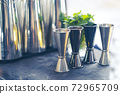 cocktail shaker bartender tools a set of equipment 72965709