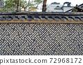 傳統建築Unhyeongung的柵欄 72968172