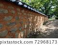 傳統建築全州京畿道牆 72968173