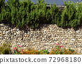 韓國傳統建築石牆 72968180