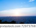 삿포로시 새벽 72973768