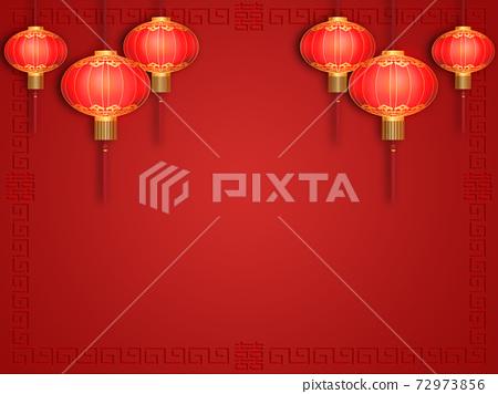 中國紅燈籠 72973856