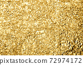 Photo material Gold leaf Gold Gold Golden Gold Background material 72974172