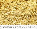 Photo material Gold leaf Gold Gold Golden Gold Background material 72974173