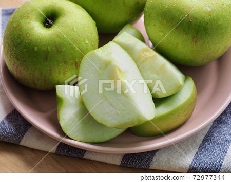 新鮮有機水果青蘋果 72977344