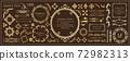 豪华框架设计名片设计 72982313