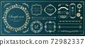豪华框架设计名片设计 72982337