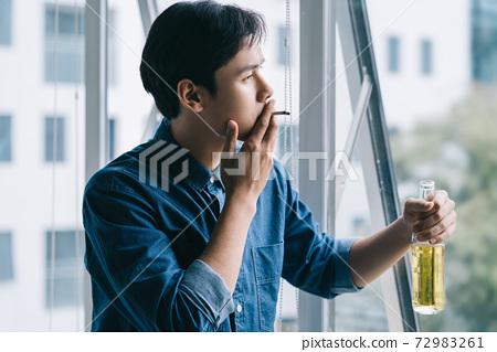 Man sadness 72983261