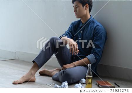 Man sadness, writer 72983278
