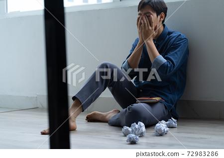 Man sadness, writer 72983286