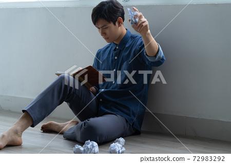Man sadness, writer 72983292
