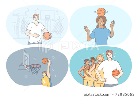 Basketball, sport, team competition concept 72985065