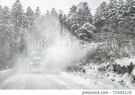 [冬季圖像]冬季除雪風光 72988228