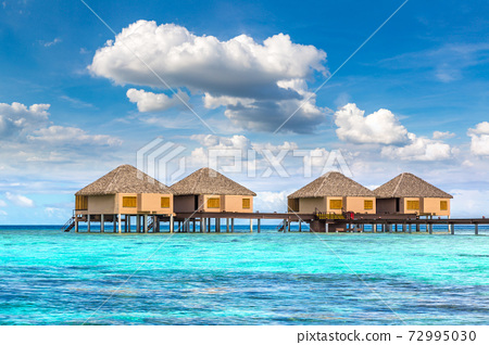Water Villas (Bungalows) in the Maldives 72995030