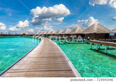 Water Villas (Bungalows) in the Maldives 72995046