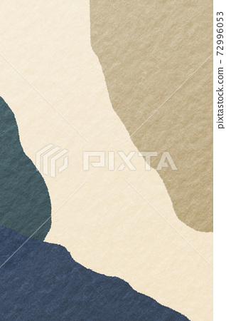 Illustration material abstract abstract Japanese style Japanese paper background material Japanese pattern 72996053