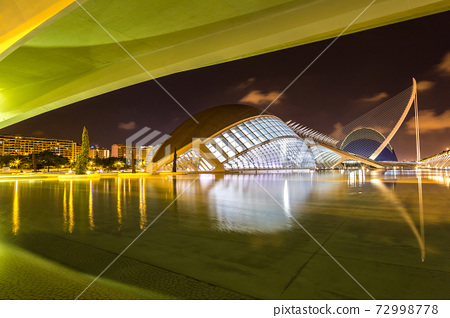 City of arts and sciences  in Valencia, Spain 72998778
