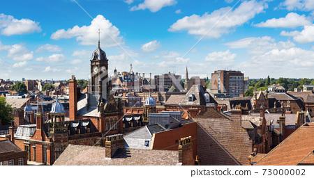 Panoramic view of York, England 73000002