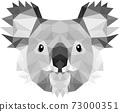 Koala Head illustrator 73000351