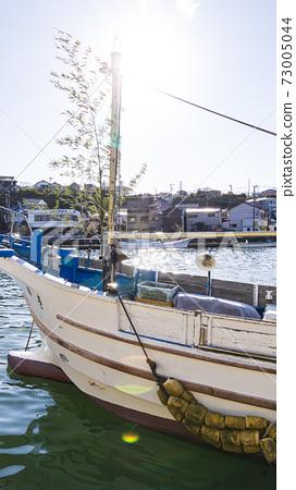 새해 쇼난 미우라 반도 가나가와 현 미우라시 미사키 어항 73005044