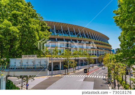 Tokyo Olympics venue, New National Stadium 73018176