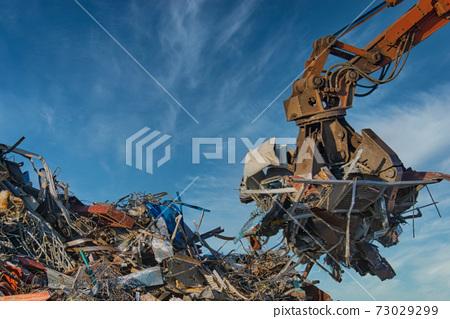 重型機械和廢鐵 73029299