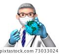 나에 걸린 지구에 백신을 주사하는 닥터 흐림 A 73033024