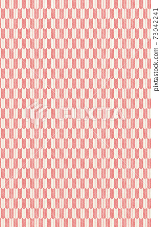 Illustration material Japanese paper texture Background material Yazaki pattern Japanese paper texture 73042241