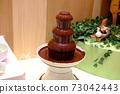 Chocolate fountain 73042443