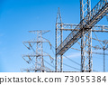 Substations, steel towers, insulators, high-voltage power lines 73055384