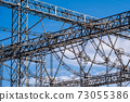 Substations, steel towers, insulators, high-voltage power lines 73055386