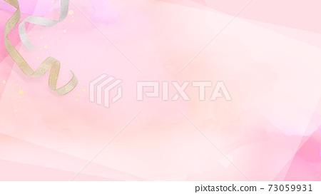 粉红丝带背景-有多个变化 73059931