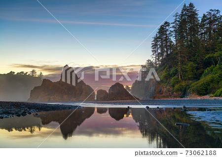 Olympic National Park, Washington, USA at Ruby Beach 73062188