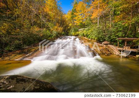 Sliding Rock Falls, Pisgah National Forest, NC, USA 73062199