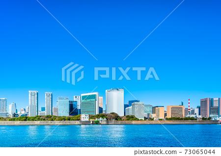 도쿄 도시 풍경 (시오도 메의 빌딩 군) 73065044