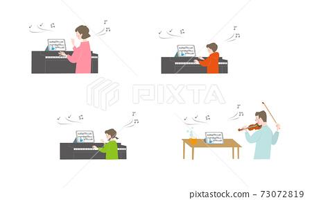 人們在線學習樂器 73072819