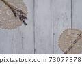 白板牆上的時尚乾花 73077878