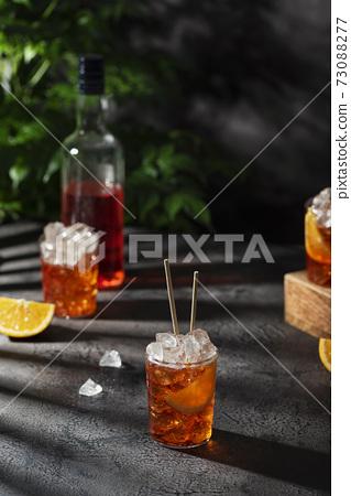 Summer Italian cocktail aperol 73088277