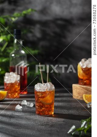 Summer Italian cocktail aperol 73088278