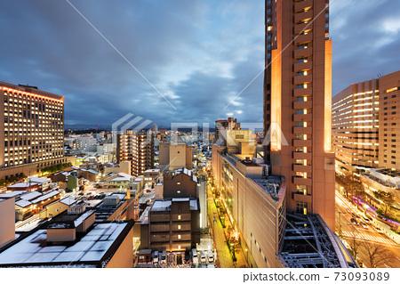 Kanazawa, Japan Downtown City Skyline 73093089