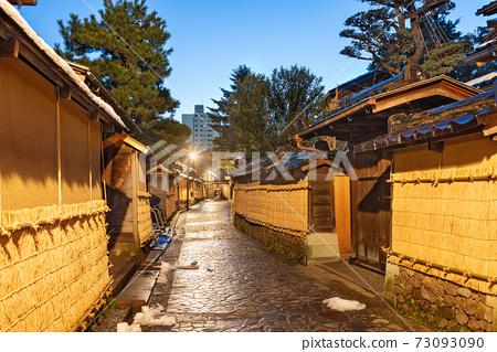Kanazawa, Japan at the Samurai District. 73093090