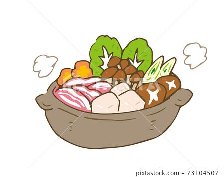 Hot pot winter hot pot cooking steam 73104507