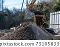 土石方工程中的動力挖掘機 73105833