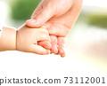 엄마와 아기가 손을 잡는 부모와 자식의 만남 73112001