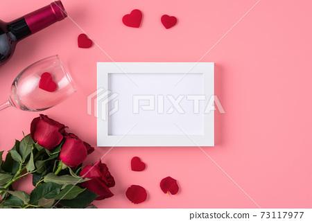 情人節 花束 相框 回憶 Valentine's Day バレンタイン 73117977